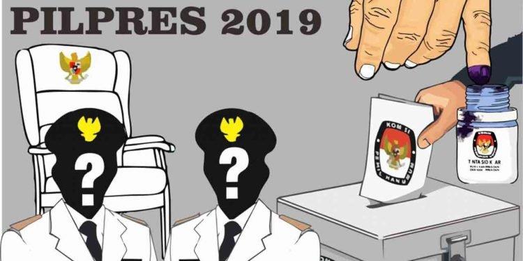 Nomor Urut untuk Pilpres Damai 2019