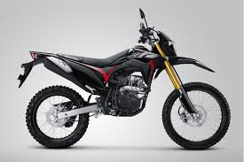 New Honda CRF 150L warna Extreme Black. (Dokumen AHM/Lampost)
