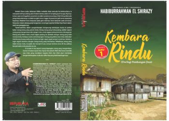 Cover Novel Kembara Rindu. (LAMPUNG POST)