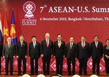 Penasihan keamanan nasional AS, Robert O'Brien hadiri ASEAN-US Summit di Bangkok, Thailand. (Foto: AFP).