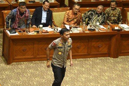 Kapolri Jendral Idhan Aziz. (FOTO:ANTARA)