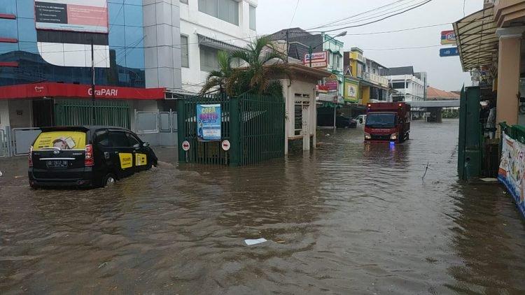 Sejumlah Wilayah di Lampung Dikepung Banjir