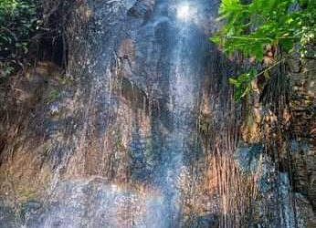 Air terjun Way Gubak. (LAMPUNG POST/ATIKA)