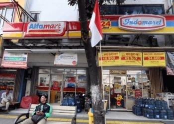 Dua Pencuri Rampok Minimarket