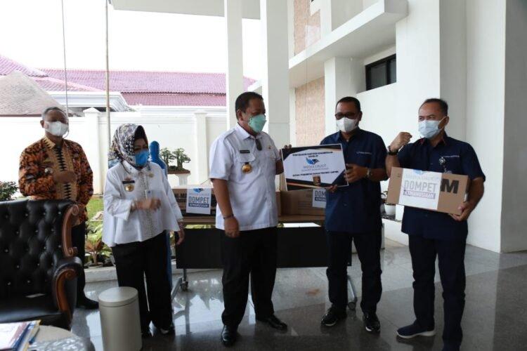 Gubernur Apresiasi Kepedulian Media Group Tangani Pandemi